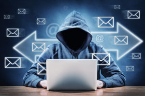 Email hacking man, cyber startups concern