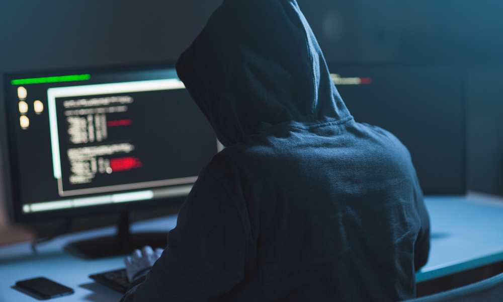 computer hacker who can be stopped by proper cybersecurity