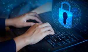 computer with small business cybersecurity features