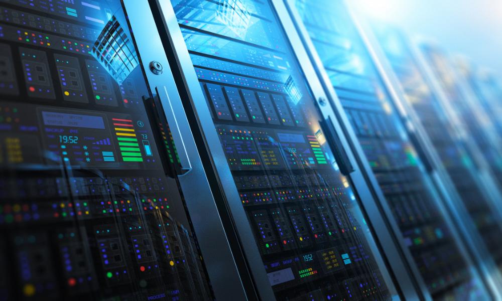 a managed service provider providing data storage as a service