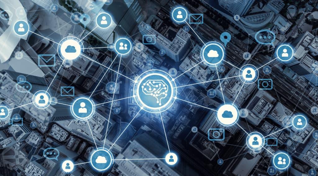 brain linked in cyberspace