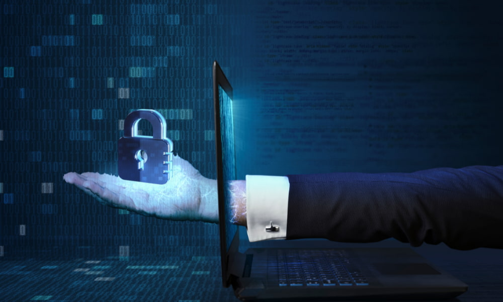 security as a service symbolized